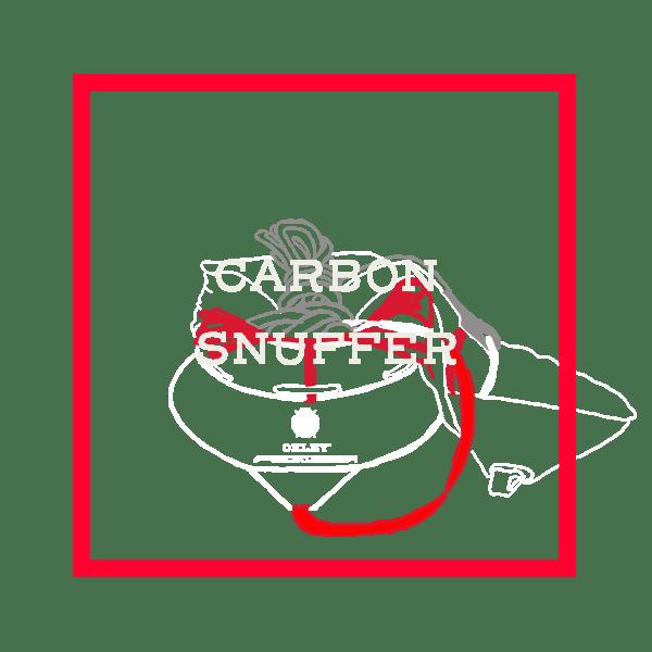 carbon snuffer