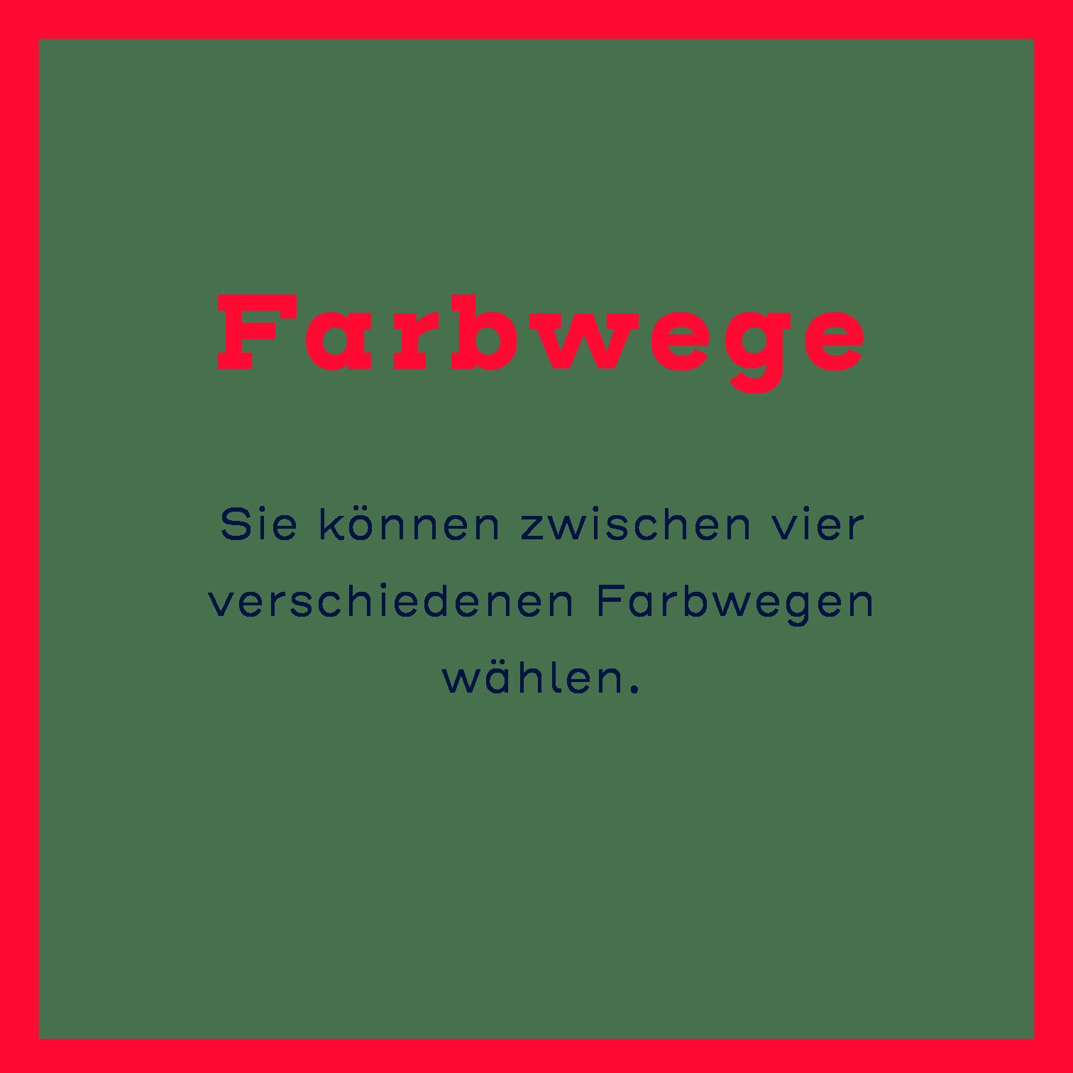 Farbwege BORA